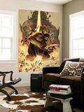 What if Wolrd War Hulk No.1 Cover: Hulk, Giant Man, Wasp, Vision and Silver Surfer Wall Mural by John Romita Jr.