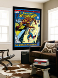 The Amazing Spider-Man No.110 Cover: Spider-Man and Gibbon Wall Mural by John Romita Sr.