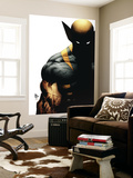Wolverine: Origins No.28 Cover: Wolverine Wall Mural by Mike Deodato Jr.