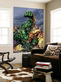 Incredible Hulk No.74 Cover: Hulk and Iron Man Wall Mural by Mike Deodato