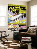Menace No.6 Cover: Marvel Universe Fighting Wall Mural by John Romita Sr.