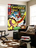 Fantastic Four No.105 Cover: Mr. Fantastic Wall Mural by John Romita Sr.