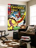 Fantastic Four No.105 Cover: Mr. Fantastic Wall Mural by John Romita Sr.