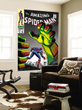 The Amazing Spider-Man No.67 Cover: Mysterio and Spider-Man Wall Mural by John Romita Sr.