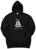Hoodie: Don't Tread on Me Kapuzenpulli