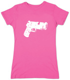 Juniors: Brookyn Gun T-Shirt