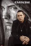 Eminem Mosaic Affiches