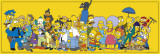 The Simpsons Stars Poster