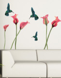 Humming Birds Wall Decal Sticker Wall Decal