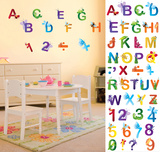 Bugs on Letters & Numbers Wall Decal Sticker Wall Decal
