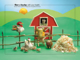 Barnyard Foodscapes Posters
