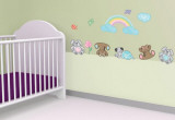 Nursery Rainbow Wall Decal Sticker Wall Decal