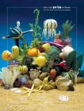 Under the Sea Foodscapes™ Poster