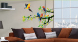 Parrots Wall Decal Sticker Wall Decal