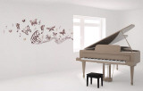 Musical Butterflies Wall Decal
