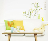 Yellow Flowers Wall Decal