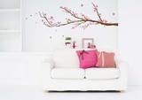 桜の花ウォールステッカー・壁用シール ウォールステッカー