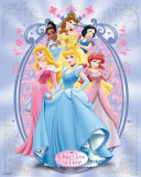 Disney Princess-Metallic Poster