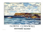 North Cornwall Reproduction procédé giclée