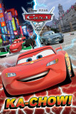 Cars 2 - Ka Chow!-Metallic Prints