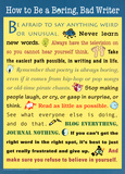 How to Be a Boring, Bad Writer Posters
