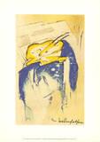 Fantastic Cliff, 1913 Affischer av Franz Marc