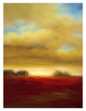Red Prairie Prints by Paul Bell