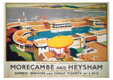 Morecambe and Heysham Giclee Print