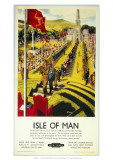 Isle of Man, Tynwald Hill, c.1950 Giclee Print by Clive Uptton