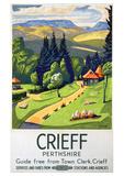 Crieff Perthshire Giclee Print