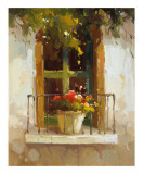 Romantic Window II Prints by Calvin Stephens