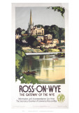 Ross-On Wye Giclee Print