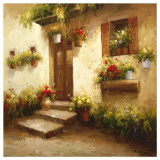 Rustic Doorway II Prints by David Lakewood