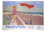 Paignton, South Devon Giclee Print