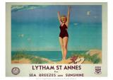 Lytham St Annes Giclee Print