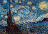 Van Gogh - Starry Night Poster
