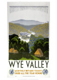 Wye Valley Giclee Print