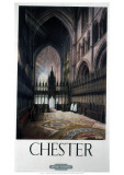 Chester Inside Cathedral Giclee Print