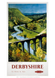 Derbyshire, BR (LMR), c.1948-1965 Giclee Print by Peter Collins