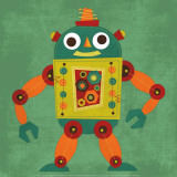 Robot 1 Poster by Nancy Lee