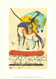 Horse, 1914 Posters by Franz Marc