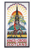 King's Cross for Scotland, LNER, c.1923-1947 Giclee Print
