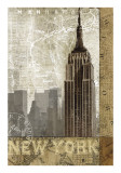Autumn in New York Posters by Keith Mallett