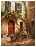 The Red Door Posters af Steven Harvey