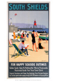South Shields Giclee Print
