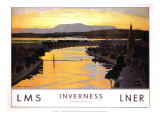 Inverness, LMS/LNER, c.1923-1947 Giclee Print