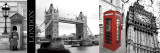 A Glimpse of London Poster by Jeff Maihara