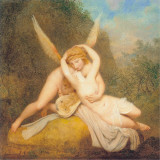 Love and Psyche Affiches par Antonio Canova