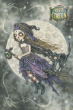 Victoria Frances - Misty Circus Flight of the Sorceress Print