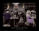 Blue Plate Special (Silver Series) Posters by Chris Consani